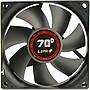 "LEPA 8cm 70D Fan - 1 x 3.15"" - 2600 rpm - Barometric Oilless Bearing"
