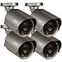 4-Pack+Q-See+Premium+700TVL+Bullet+Surveillance+Camera+Kit