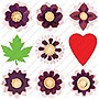CRICUT Projects Cartridge, Flower Shoppe - 1 Each