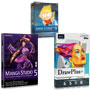 Creative Essentials 3 - DrawPlus X6, Manga Studio 5 & Anime Studio Debut 9 Bundle