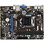 MSI H81M-E33 Micro ATX Desktop Motherboard w/ Intel H81 Chipset & Socket H3