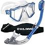 Lux Mask Snorkel System Blue