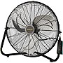 "Lasko Floor Fan - 20"" Diameter - 3 Speed - Wall Mountable - Metal Blade - Black"