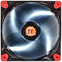 "Thermaltake Luna 12 LED White - 1 x 4.72"" - 1200 rpm - Sleeve Bearing"