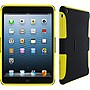 rOOCASE eXTREME Hybrid Shell Case for iPad mini - iPad mini - Yellow, Black - Thermoplastic Polyurethane (TPU), Silicone