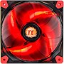 "Thermaltake Luna 12 LED Red - 1 x 4.72"" - 1200 rpm - Sleeve Bearing"