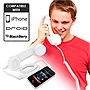 Universal Cell Phone Retro Handset (White)