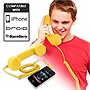 Universal Cell Phone Retro Handset (Yellow)
