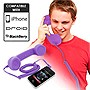 Universal Cell Phone Retro Handset (Purple)