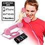 Universal Cell Phone Retro Handset (Pink)