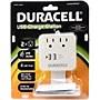 Duracell DU6203 2-Outlets Surge Suppressor/Protector - 2 x AC Power, 2 x USB - 245 J - 120 V AC Input - 5 V DC Output