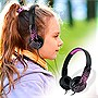 Maxell+Safe+Soundz+Overear+Headphones+Ages+10-12+(Pink)