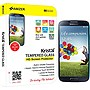 Amzer Kristal Tempered Glass HD Screen Protector for Samsung GALAXY S4 GT-I9500 Transparent - Smartphone