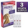 Pronyl OTC 45 to 88-Pound Dog Flea and Tick Remedy, 3-Count
