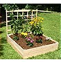 Eden Garden Bed With Trellis