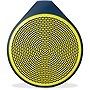 Logitech X100 Speaker System - Wireless Speaker(s) - Yellow - 30 ft - USB