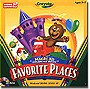 Crayola Magic 3D Coloring Book - Favorite Places