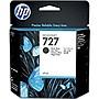 HP 727 Ink Cartridge - Matte Black - Inkjet - Standard Yield - 1 / Pack