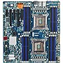 Gigabyte GA-7PESH2 Server Motherboard - Intel C602 Chipset - Socket R LGA-2011 - Extended ATX - 2 x Processor Support - 32 GB DDR3 SDRAM Maximum RAM - Serial ATA/600, Serial ATA/300, 6Gb/s SAS RAID Supported Controller - On-board Video Chipset - 2 x PCIe