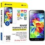 Amzer Kristal Tempered Glass HD Screen Protector for Samsung Galaxy S5 SM-G900 Transparent - Smartphone