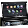"Boss BV9979B Car DVD Player - 7"" Touchscreen LCD - Single DIN - DVD Video, Video CD, MP4, AVI - AM, FM - Secure Digital (SD), MultiMediaCard (MMC) - Bluetooth - Auxiliary Input - 2 x USB - 800 x 480 - iPod/iPhone Compatible - In-dash"