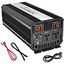 Pyle PINV3300 Power Inverter - Input Voltage: 12 V DC - Output Voltage: 120 V AC, 5 V DC - Continuous Power: 3 kW