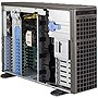 Supermicro SuperWorkstation 7047R-TXRF Barebone System - 4U Tower - Intel C602 Chipset - Socket R LGA-2011 - 2 x Processor Support - Black - 512 GB Maximum RAM Support - Serial ATA/600 RAID Supported Controller - Matrox G200 Integrated - 11 x Total Bays -
