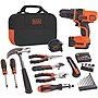 Black & Decker 12V Max Lithium Drill & Project Kit