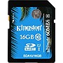 Kingston Ultimate 16GB SDHC Class 10 UHS-I Flash Card