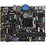 MSI H81M-E34 Micro ATX Desktop Motherboard w/ Intel H81 Chipset & Socket H3