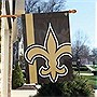 NFL New Orleans Saints Bold Logo Banner, Black, Small