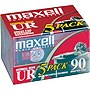 Maxell UR Type I Audio Cassette - 5 x 90Minute - Normal Bias