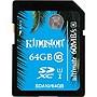 Kingston Ultimate 64GB SDXC Class 10/UHS-I Memory Card