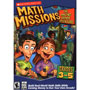 Math Missions: The Amazing Arcade Adventure (Grades 3-5) with Math Card Game