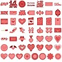 CRICUT Valentine's Day - 50 Piece(s)