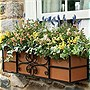 "Panacea 336034 36"" Quatrefoil Window Box"