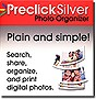 Preclick Silver Photo Organizer