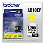 Brother LC-10EY INKvestment Super High Yield (XXL Series) Yellow Ink Cartridge