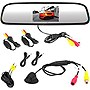Pyle PLCM4370WIR Wireless Backup Camera & Mirror Monitor w/ Night Vision Cam
