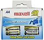 Maxell 723443 LR6 General Purpose Battery - AA - Alkaline - 48 Pack