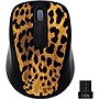 Gear Head Wireless Optical Nano Mouse - RF - USB - Leopard
