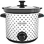 Black & Decker 4Qt Slow Cooker Blk Polka