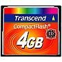 Transcend 4GB CompactFlash Card (133x) - 4 GB