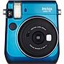 Fujifilm Instax Mini 70 Instant Film Camera - Instant Film - Island Blue