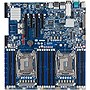 Gigabyte MD60-SC0 Server Motherboard - Intel Chipset - Socket LGA 2011-v3 - Extended ATX - 2 x Processor Support - 64 GB DDR4 SDRAM Maximum RAM - 2.13 GHz Memory Speed Supported - 16 x Memory Slots - Serial ATA/600, Serial Attached SCSI (SAS) RAID Support