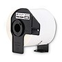Brother 2.3 in x 3.4 in Adhesive Name Badge White Paper Labels (260 Labels)