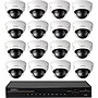 Q-see 32 Channel NVR with 16 4MP Dome Cameras & 4TB HDD