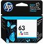 HP 63 Original Ink Cartridge - Tri-color - Inkjet - 165 Page - 1 Each