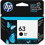 HP 63 Original Ink Cartridge - Single Pack - Inkjet - 190 Pages - Black - 1 Each