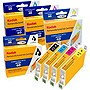KODAK Remanufactured B/C/M/Y Ink Cartridge Combo Pack for Epson T060120-BCS